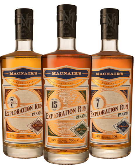 MacNair's Exploration Rum - Panama Range